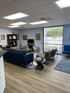 Austin Dental Wellness reception area