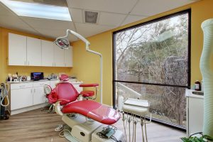 operatory in the office of Austin biological dentist Joan Sefcik