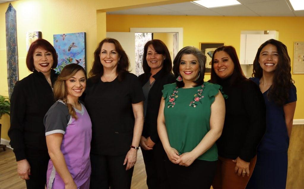 Dr. Joan Sefcik & her staff
